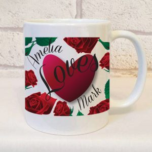 personalised valentines mug By Beautifully Obscene