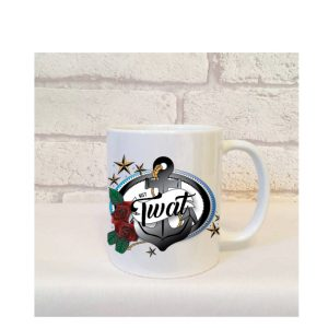 nosy twat mugs by Beautifully Obscene