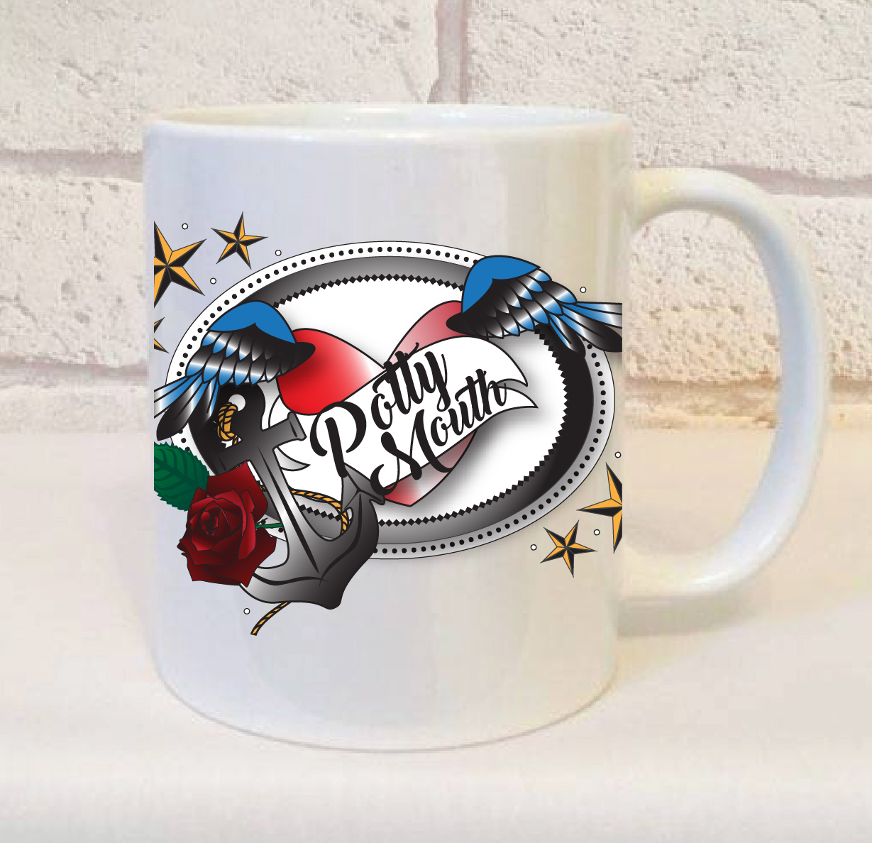 Potty Mouth Novelty Mug - Perfect Gift For someone who swears alot! b8f92f5d7