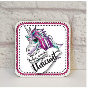 unicunt coaster by Beautifully Obscene