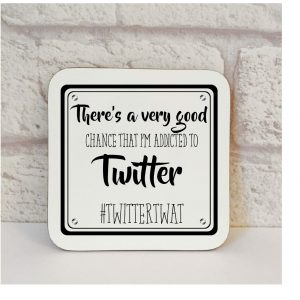 addicted to twitter coaster
