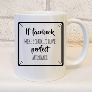 addicted to facebook mug by Beautifully Obscene