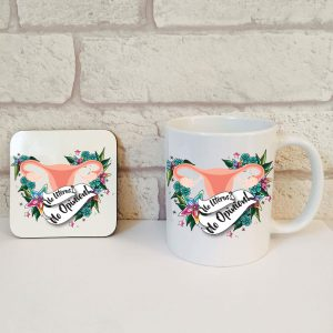 no uterus no opinion gift set by Beautifully Obscene