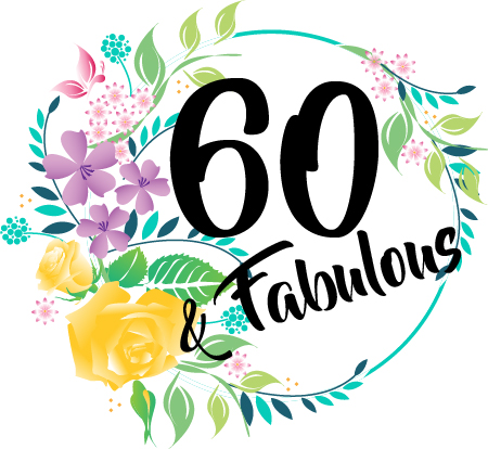 60th Birthday Gift Coaster Sixty And Fabulous Fiver Friday Present Gifts For Women