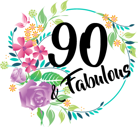 90 And Fabulous Birthday Mug 90th Gift For Her Present