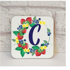 Initial C Name Coaster By Beautifully Obscene