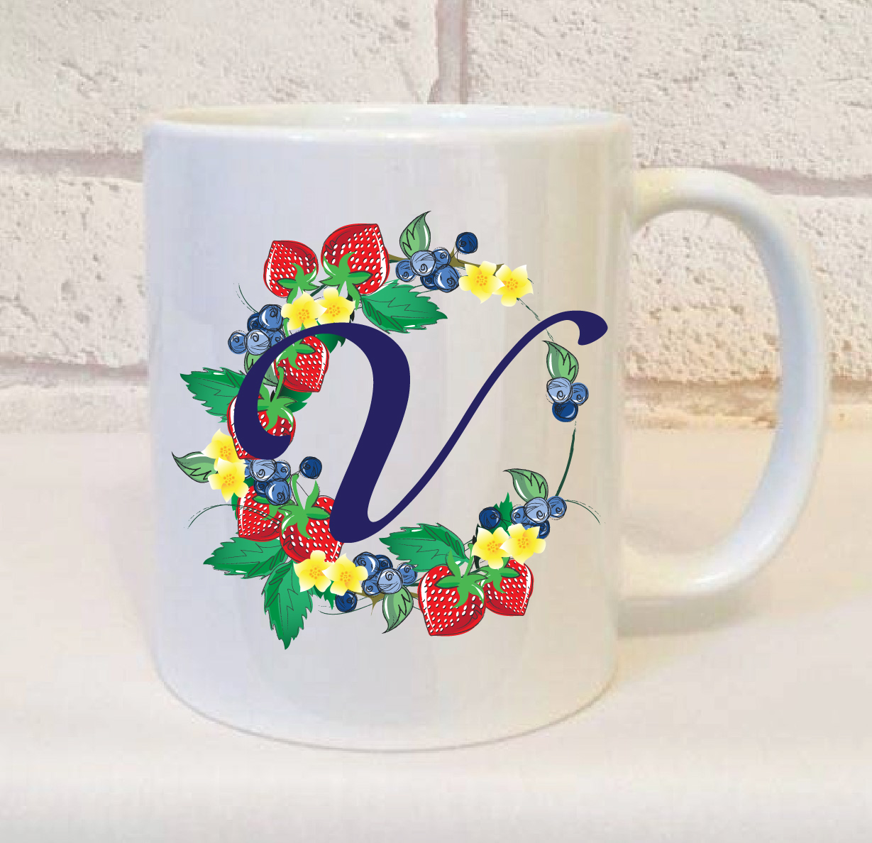 letter v mug gift perfect initial mug gift for a friend With gifts with letter v