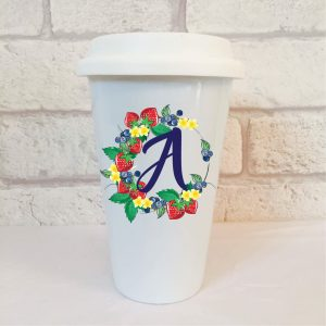 Initial A Gift Idea By Beautifully Obscene
