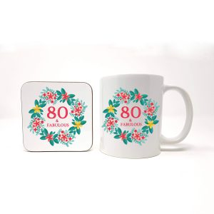 80th birthday gift set by Beautifully Obscene