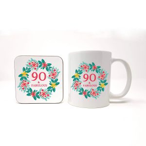 90th birthday gift set by Beautifully Obscene
