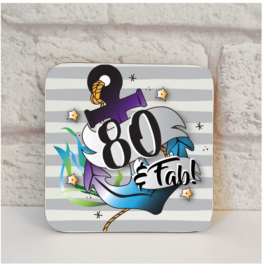 80th Birthday Gift For Him By Beautifully Obscene