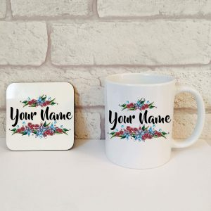 personalised coffee cup gift set by Beautifully Obscene