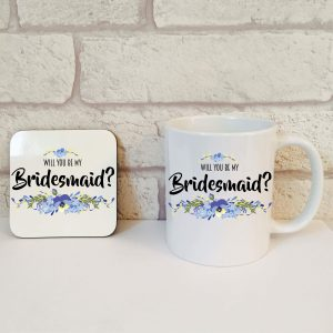 will you be my bridesmaid gift set by Beautifully Obscene
