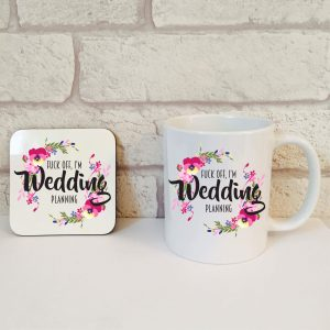 wedding planning gift set by Beautifully Obscene