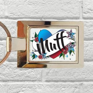 funny muff keyring by Beautifully Obscene