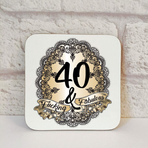 40th novelty gift by Beautifully Obscene