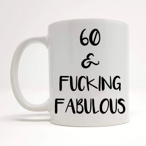 60th Funny Ceramic Mug