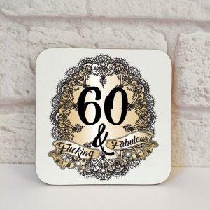 60th novelty gift by Beautifully Obscene