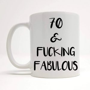 70th Funny Ceramic Mug
