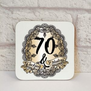 70th novelty gift by Beautifully Obscene