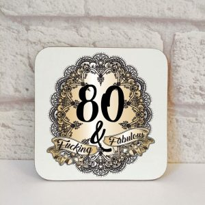 80th novelty gift by Beautifully Obscene