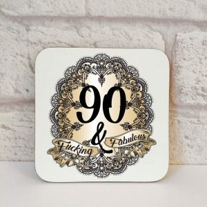90th novelty gift by Beautifully Obscene