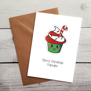 cupcake lovers christmas card by Beautifully Obscene