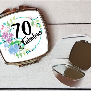 70th compact mirror set by Beautifully Twee