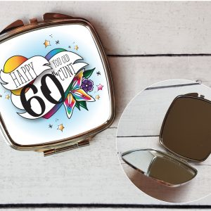 offensive 60th compact mirror by Beautifully Obscene