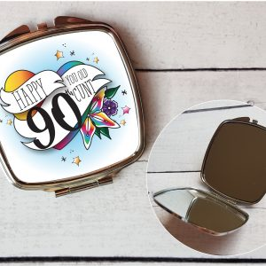 offensive 90th compact mirror by Beautifully Obscene