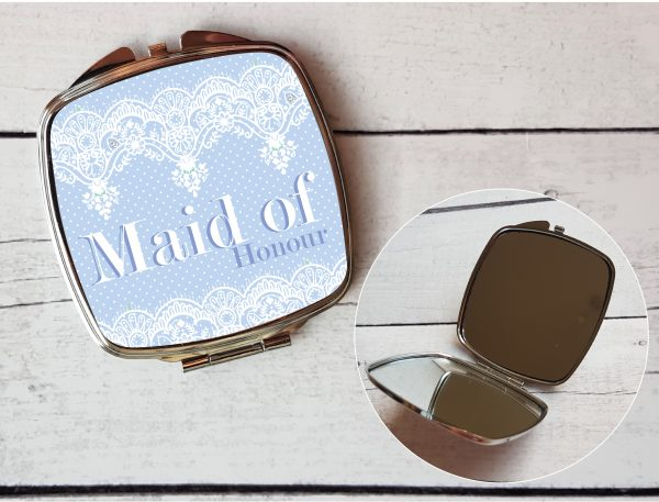 maid of honour compact mirror By Beautifully Obscene