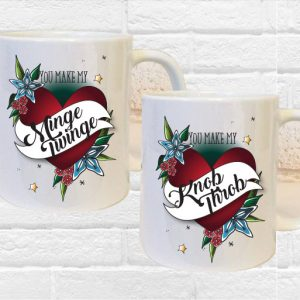 Obscene Mug Gift Set By Beautifully Obscene