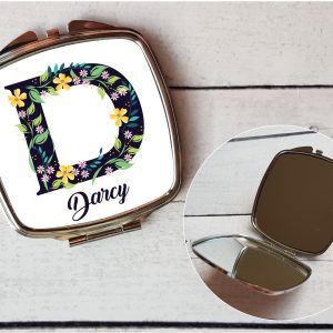 initial compact mirror By Beautifully Obscene