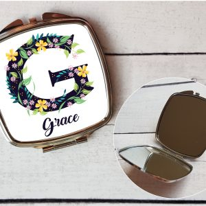 name compact mirror gift by Beautifully Obscene