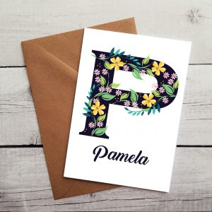 personalised mum card by Beautifully Obscene