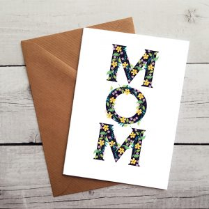 mom occasion card by Beautifully Obscene