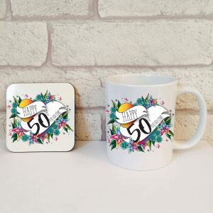 funny 50th gift idea by Beautifully Obscene