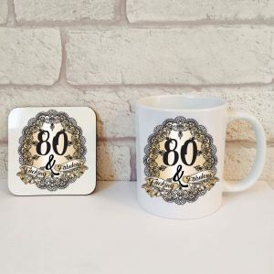 hilarious 80th birthday gift idea by Beautifully Obscene