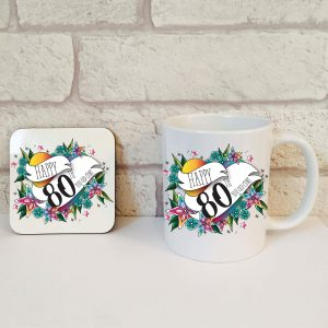 funny 80th gift idea by Beautifully Obscene