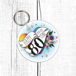 offensive ladies 80th gift by Beautifully Obscene