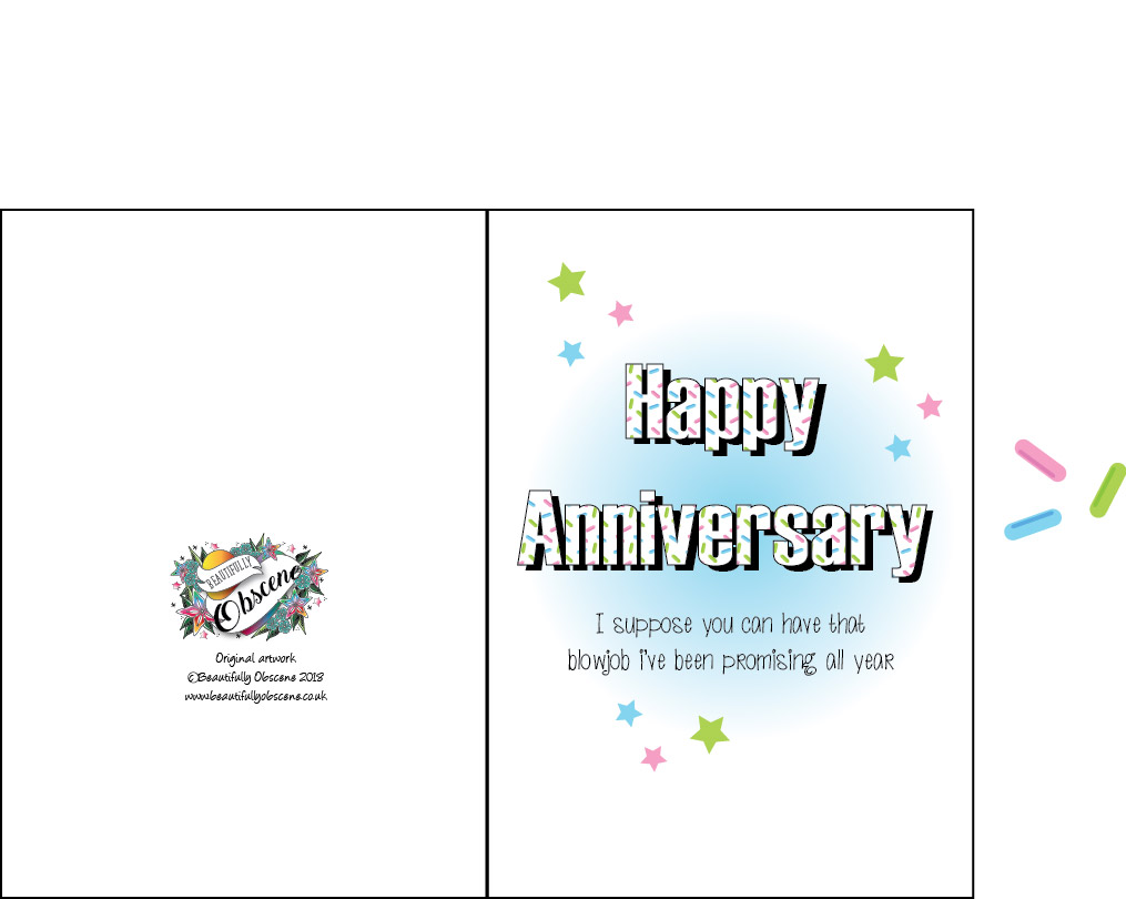 photograph about Happy Anniversary Printable Card called satisfied anniversary card printable Correctly Obscene