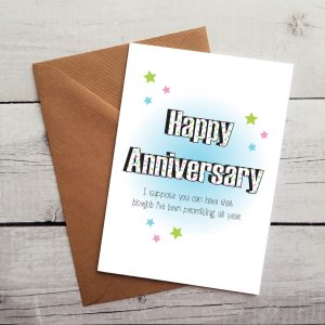 happy anniversary blowjob card by Beautifully Obscene