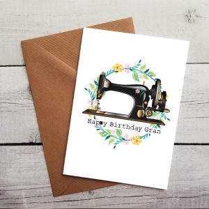 happy birthday gran occasion card by Beautifully Obscene