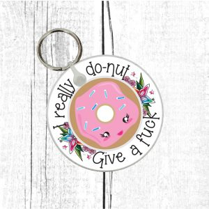 donut lovers funny gift by Beautifully Obscene