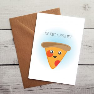 pizza lovers card by Beautifully Obscene