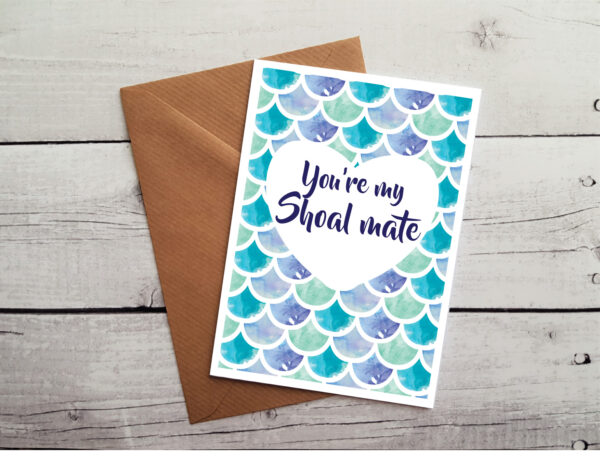 mermaid occasion card by Beautifully Obscene