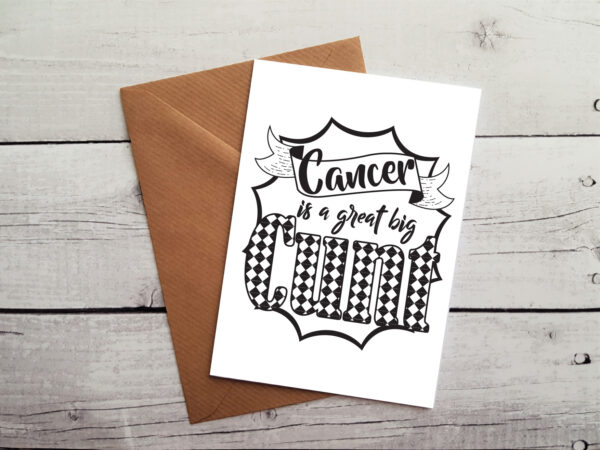 humour cancer card by Beautifully Obscene