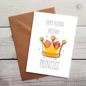 funny daughter birthday card by Beautifully Obscene
