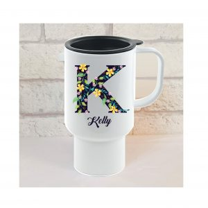 personalised travel mugs by Beautifully Obscene