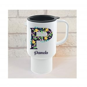 personalised grandma travel mug by Beautifully Obscene